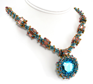 Garden Jewel Necklace by Cindy Holsclaw