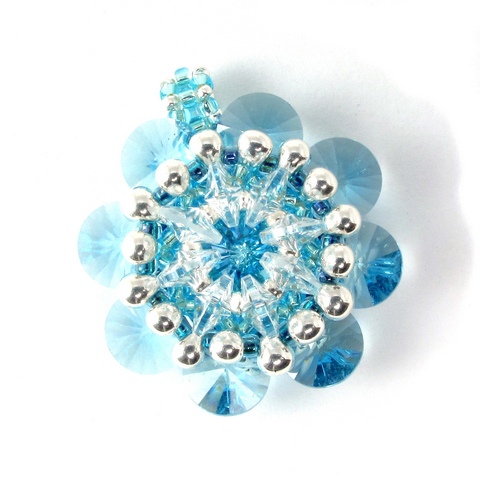 rivoli kaleidoscope ice blue