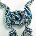 Coiled Tendrils Necklace by Cindy Holsclaw