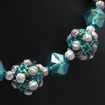 Melon Ball Beaded Beads