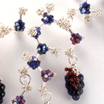 Red Wine Chemistry Necklace