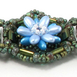 Water Lilly Windows Bracelet