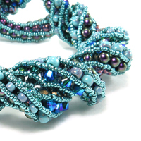 Supercoiled Beaded Rope